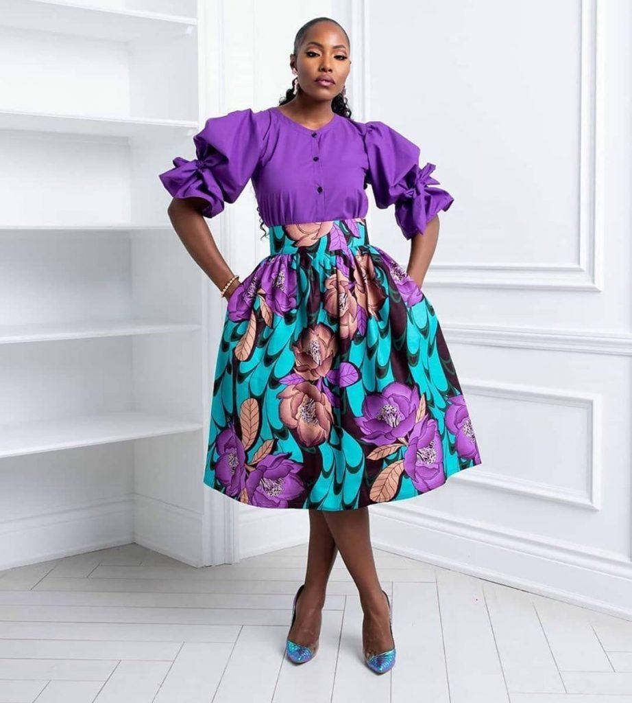 African Print Dresses styles for ladies this week