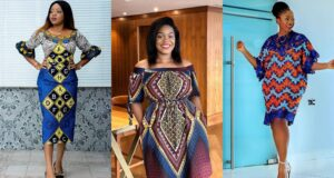 African Print Dresses Styles for ladies