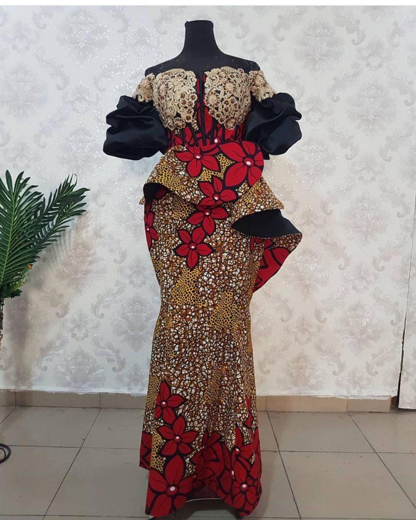 Latest Ankara Gown Styles 2020