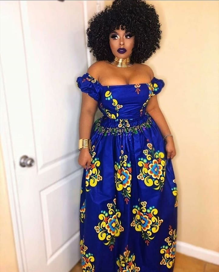 2020 Ankara Gown Styles for ladies to Try Out