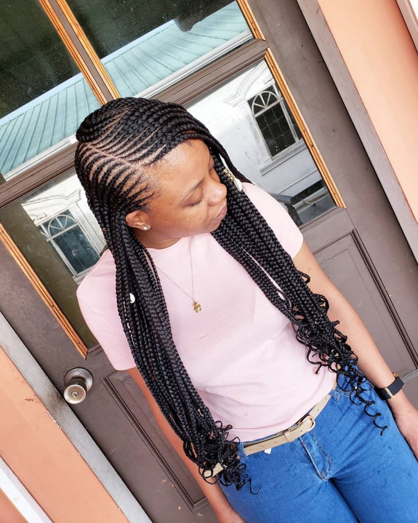 Latest Braids Hairstyles 2020 pictures for Ladies