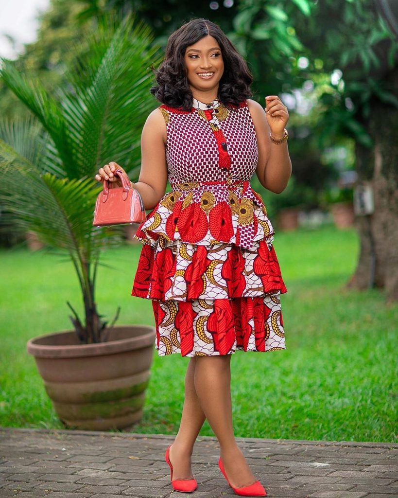 Latest Ankara Gown Styles 2020 For Ladies