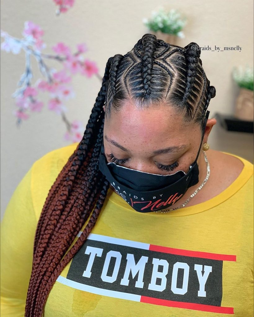 Latest Braiding Hairstyles 2021 for Ladies