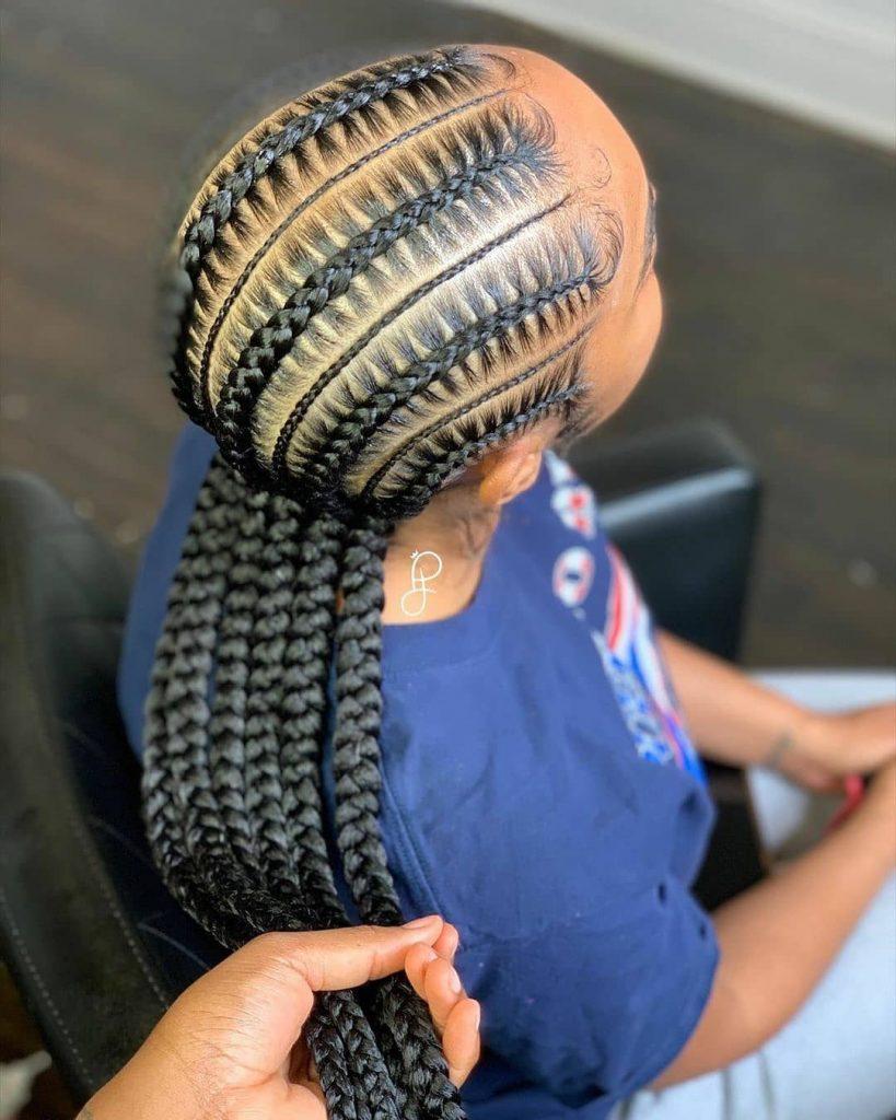 Latest Ghana Weaving Hairstyles 2020