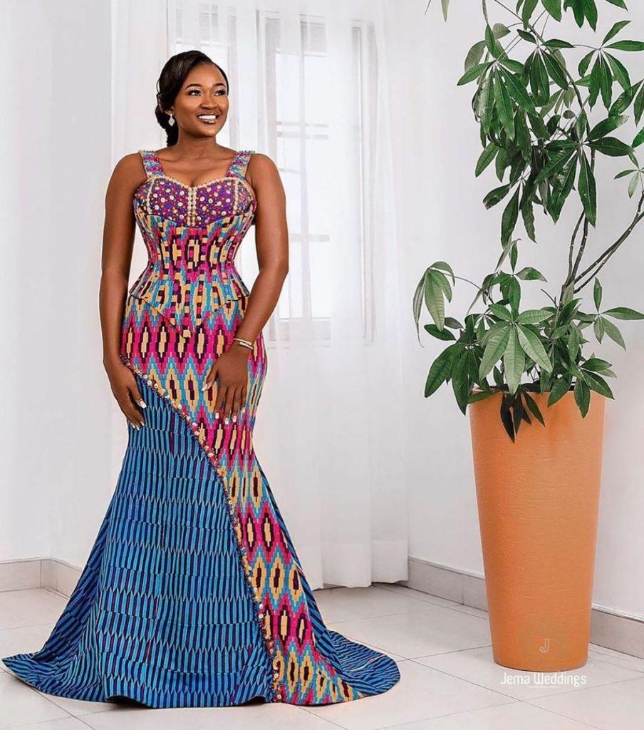 Latest Ankara Gown Style 2020