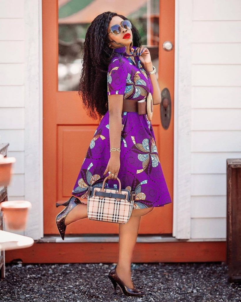 Short Ankara Gown Style 2020