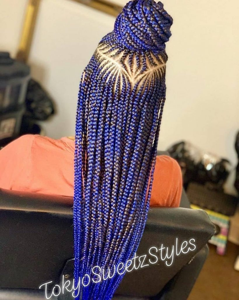 2021 braids hairstyles for Ladies