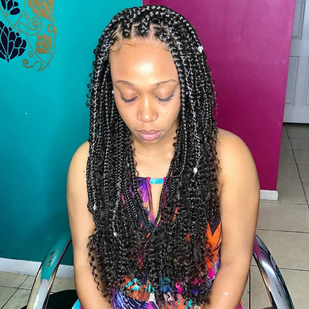 Latest Braids hairstyles for ladies 2020