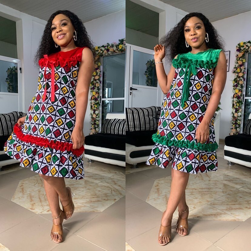 2021 Ankara Styles: Beautiful Dresses for Ladies