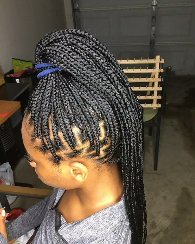 New Black Braided Hairstyles 2021