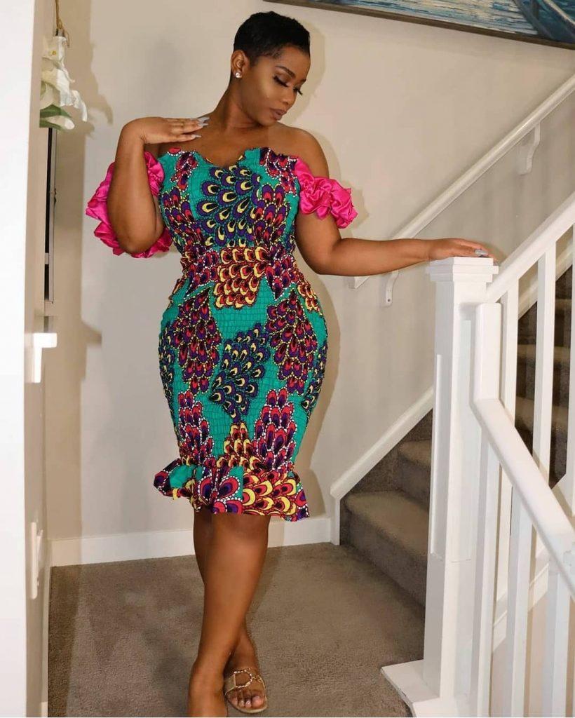 African Print Dresses 2021: Beautiful dresses for Ladies