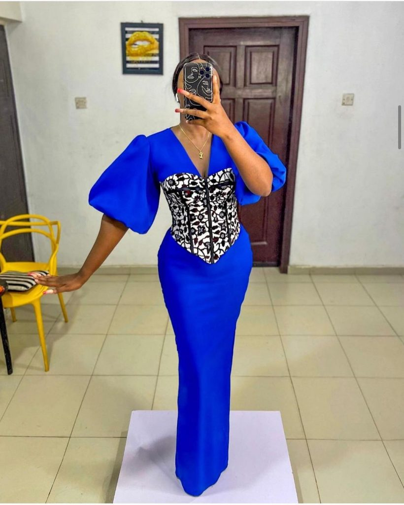 Latest Ankara Gown Styles 2021 for women