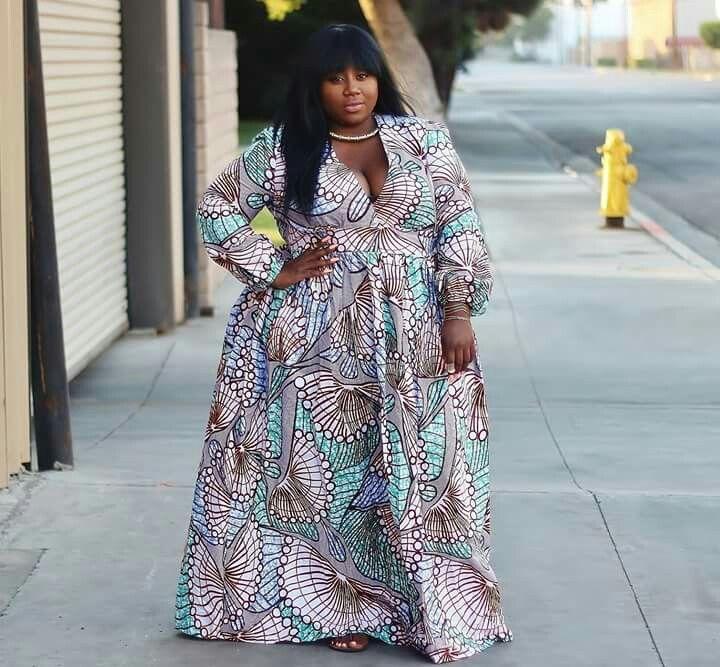 2021 Kitenge Fashion Dresses for Plus Size Ladies